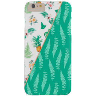 Ananas Tropical Leaf Jungle Fruit Summer Barely There iPhone 6 Plus Case
