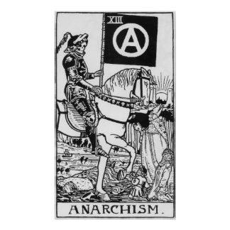 Anarchism gothic poster