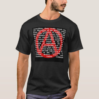 Anarchism Is Quote T-Shirt