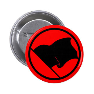 Anarchist Black Flag button