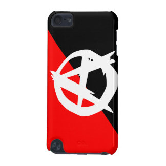 Anarchist Black White and Red Flag iPod Touch 5G Cover
