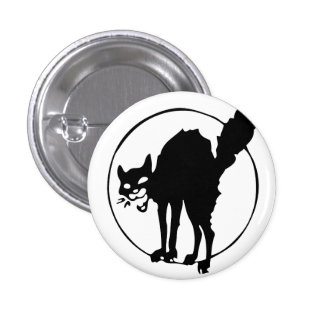 Anarchist Cat 3 Cm Round Badge