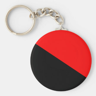 Anarchist, Colombia Political flag Key Ring
