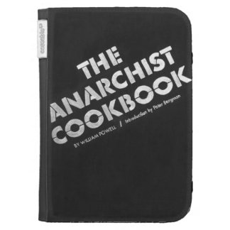 Anarchist Cookbook faux Kindle Covers