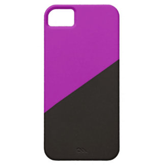 anarchist feminism flag purple black anarchy iPhone 5 covers