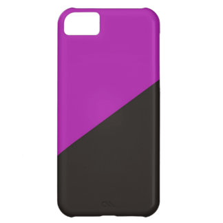 anarchist feminism flag purple black anarchy iPhone 5C case