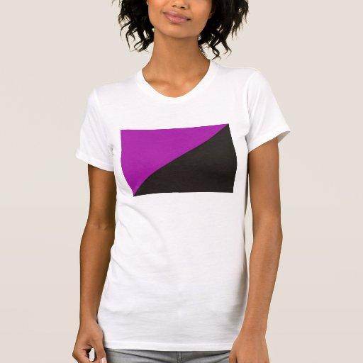 anarchist feminism flag purple black anarchy tee shirts