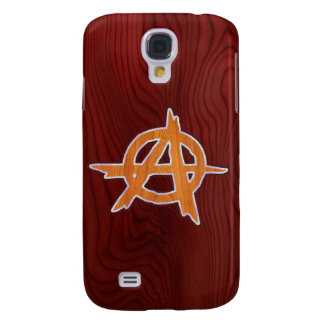 Anarchist Inlay Galaxy S4 Cases