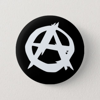 Anarchist logo button