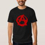 Anarchist logo men's t-shirt