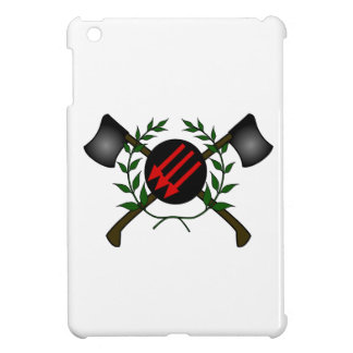 Anarchist Skinhead Communist Skin Head Red/Anarchy iPad Mini Case