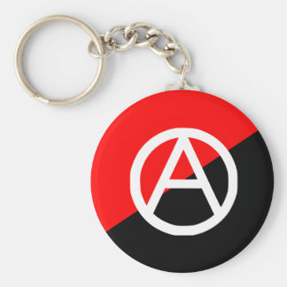 Anarchist With A Symbol2, Colombia flag Key Ring