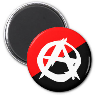 Anarchist With A Symbol, Colombia Magnet