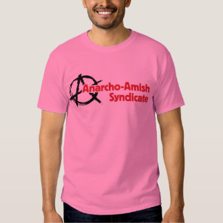 Anarcho-Amish Syndicate T-shirt