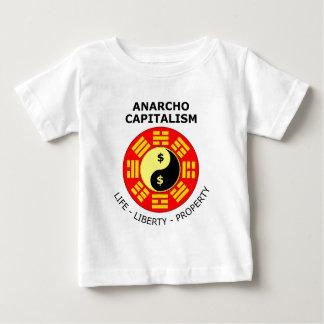 Anarcho Capitalism - Life, Liberty, Property Baby T-Shirt