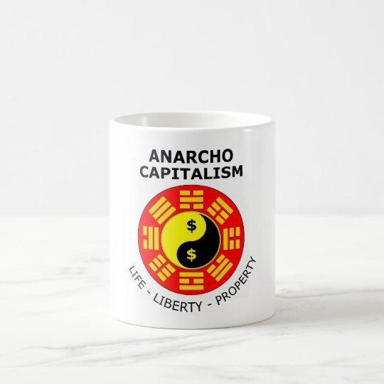 Anarcho Capitalism - Life, Liberty, Property Coffee Mug