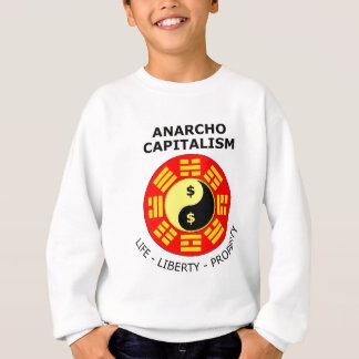 Anarcho Capitalism - Life, Liberty, Property Sweatshirt