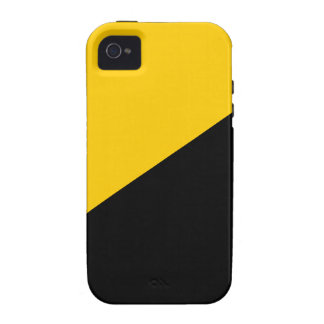 Anarcho Capitalist Black and Yellow iPhone 4/4S Covers