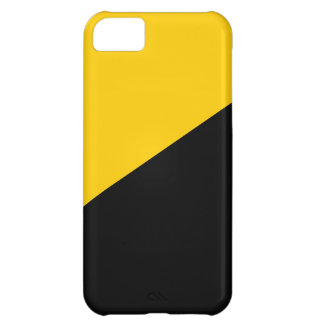 Anarcho Capitalist Black and Yellow iPhone 5C Cover