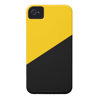 Anarcho Capitalist Black and Yellow Case-Mate iPhone 4 Cases