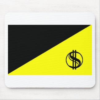 Anarcho-Capitalist Flag Mouse Mat