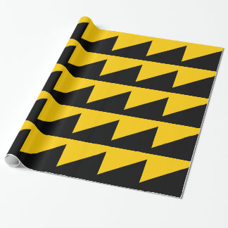 Anarcho Capitalist Flag Wrapping Paper