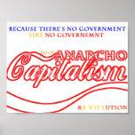 Anarcho Capitalist Revolution Poster