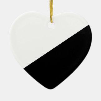 Anarcho Pacifist, Colombia Political Ceramic Heart Decoration