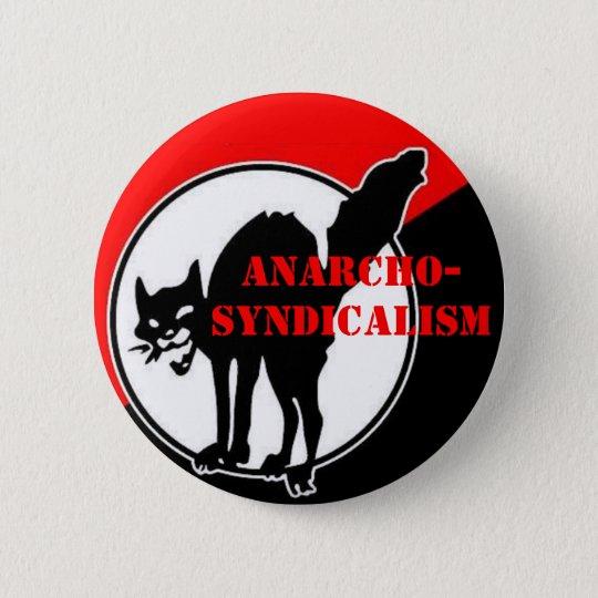 anarcho-syndicalism 6 cm round badge