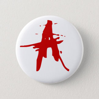 Anarchy A 6 Cm Round Badge