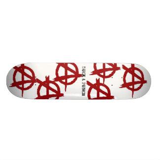 Anarchy, Anarchy, Anarchy... Skate Board Deck
