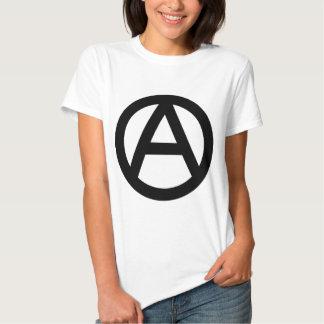 Anarchy anarchy PUNK non government principle flat Shirt