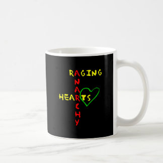 Anarchy and Raging Hearts Coffee Mug