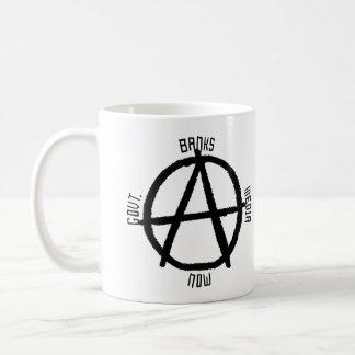 Anarchy Big 3 Basic White Mug