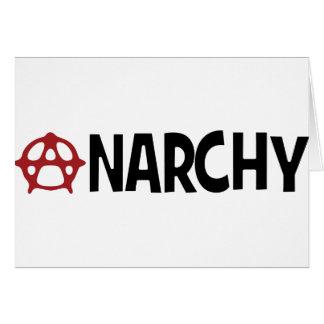 Anarchy ! card