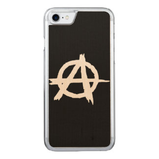 Anarchy Carved iPhone 7 Case