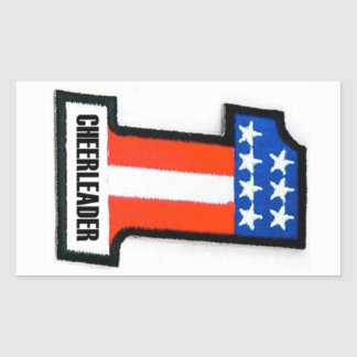 Anarchy Cheerleader Moto Sticker