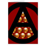 Anarchy Christmas Greeting Cards