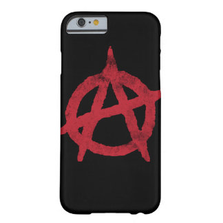 Anarchy Circle A Barely There iPhone 6 Case