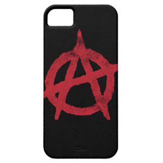 Anarchy Circle A iPhone 5 Cases