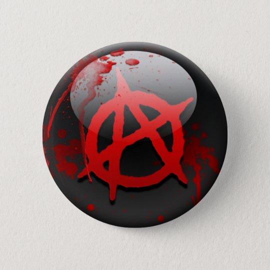 Anarchy Flag 6 Cm Round Badge