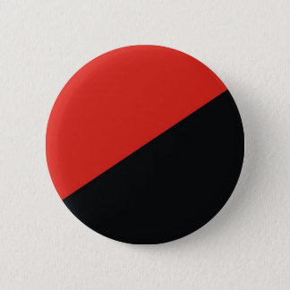 anarchy flag red black 6 cm round badge