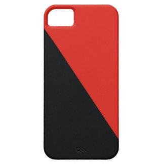 anarchy flag red black barely there iPhone 5 case