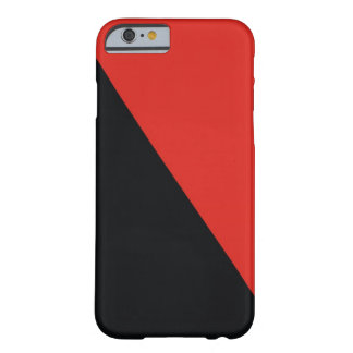 anarchy flag red black barely there iPhone 6 case