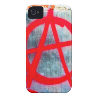 Anarchy Graffiti Case-Mate iPhone 4 Cases