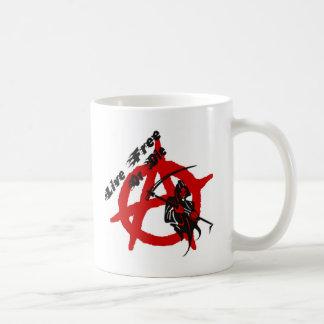 Anarchy Grim Reaper Coffee Mug