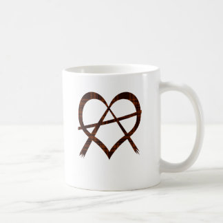 Anarchy Heart Symbol Mug