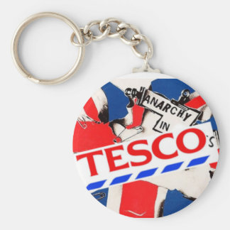 Tesco gifts t shirts art posters other gift ideas zazzle anarchy in tescos key ring negle