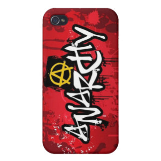 Anarchy! iPhone 4 Speck Case iPhone 4 Cases