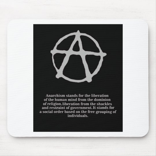 anarchy. mouse mat